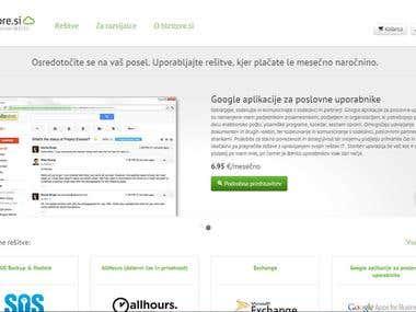 Bizstore Website