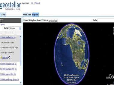Geostellar (GWT+UI Binder + MVC)