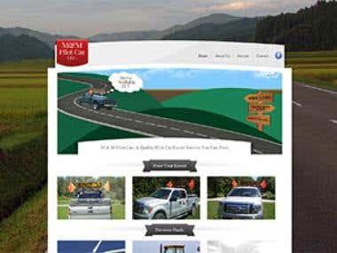 M & M Pilot Car Website