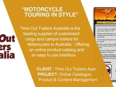 Motorbike Trailer Company Joins the Retailers