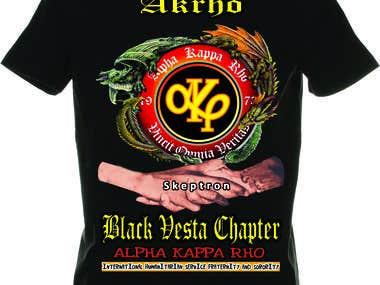 black vesta logo
