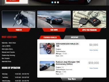 car website