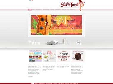 lil miss sweet tooth website design + development
