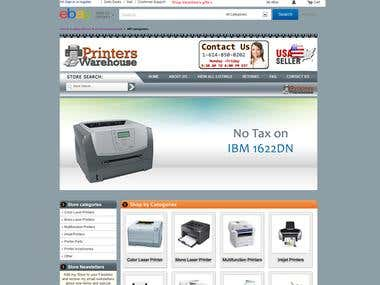 Ebay Store for Printers