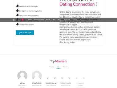 Dating connection