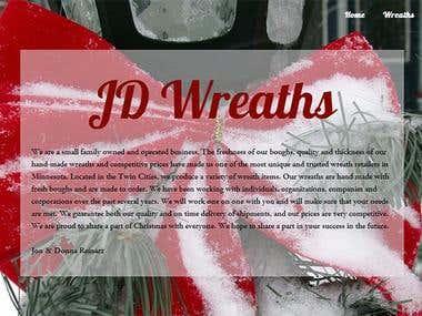 jdwreaths.com