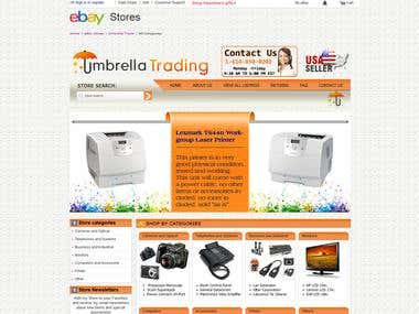 Ebay Store for Umbrella trading