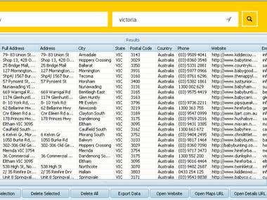 Yellow Pages Australia Data Extraction
