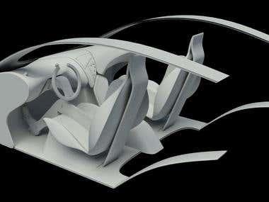 Car Interior Concept