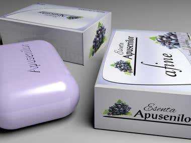 Esenta Apusenilor Logo & Package Design
