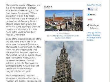 Munich - The Hottest Tourist Destination in Germany