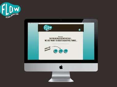Flow website design