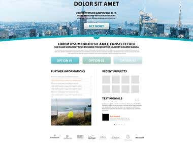 Web Design Samples 3