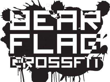 shirt logo design for fitness facility