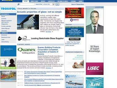 GlassOnWeb - portal dedicated to the glass in building