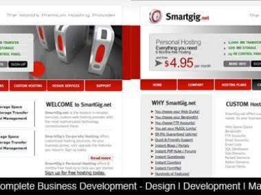 Web Design Samples 2