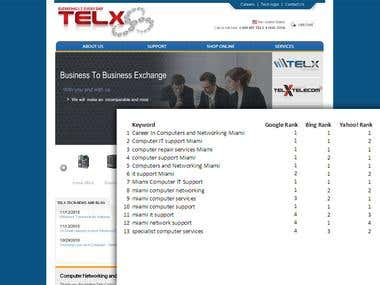 Search Engine Optimization - Telx Computer