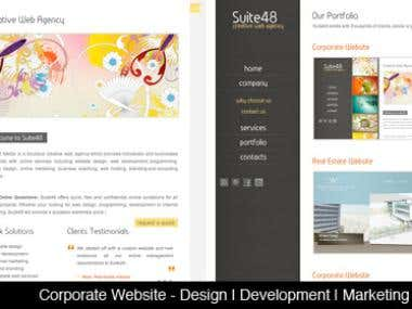 Web Design Samples 1