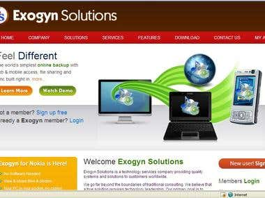 Exogyn website