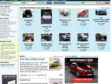 mojAvto.net - portal dedicated to the automotive business