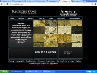 Image Gallery Website.