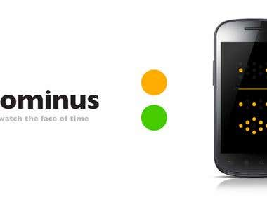 Dominus Clock for Android as application.