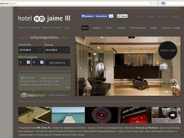 Translation of HM Hotels websites