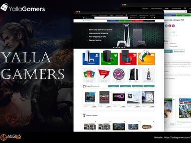 Yallagamer: Ecom Website