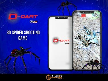 D-Dart : Spider Shooting Game
