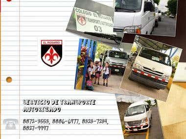Banner for School Transport Service