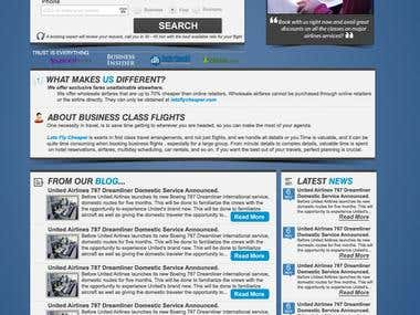 Lets Fly cheaper full web design