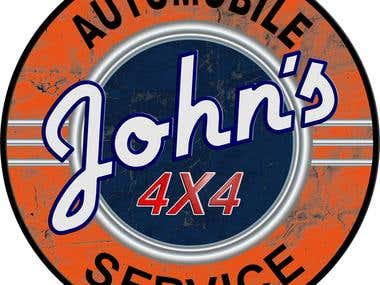 Logo for automobile service center