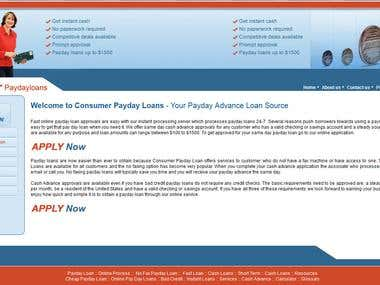 Consumer Payday Loans