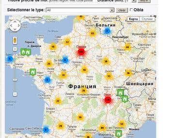 google maps project