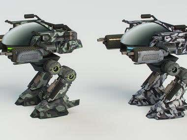 Robot for game