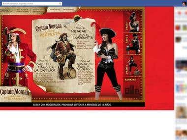 Captan Morgan - Facebook App