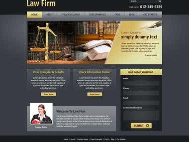 The Modern Law Firm Website Design