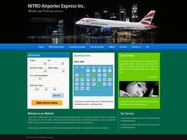 Travel website in wordpress