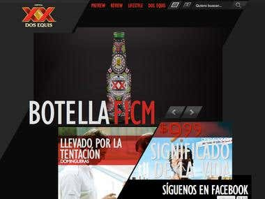 Dos Equis - Full Site