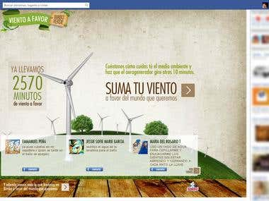 Viento a Favor - Facebook App