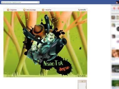 NanoTak - Facebook Game
