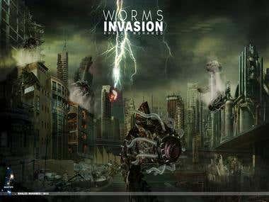Worms Invasion