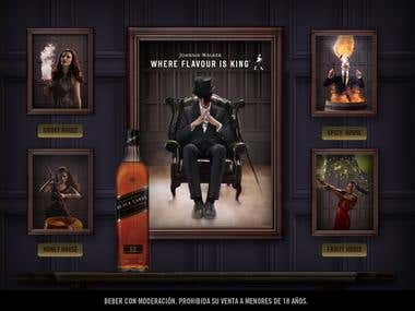 Johnny Walker - iPad promo app