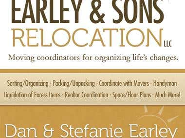 Client Business Card: Earley & Sons