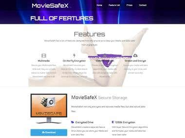 moviesafeX product site