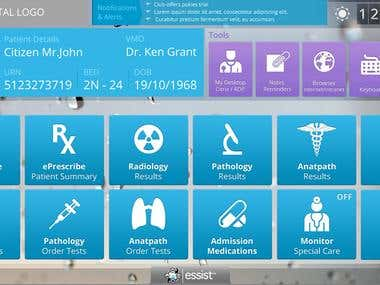GUI Design For Ethan Group - System Screens