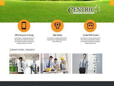 Website for building developer company