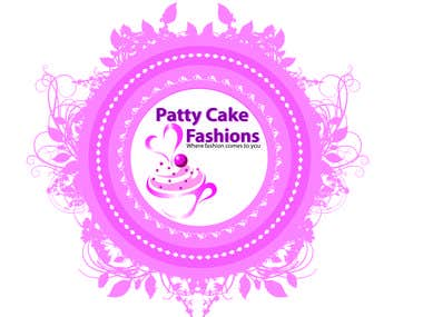 Patty Cake Fashions - Logo Design