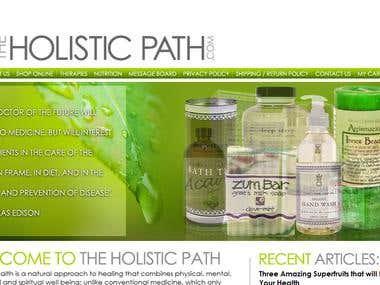 Client Site: Holistic Path