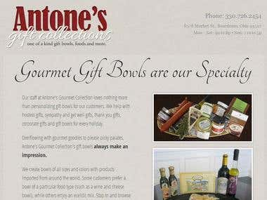 Client Site: Corporate Gifts Site